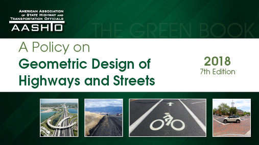 A Policy on Geometric Design of Highways and Streets, 7th Edition